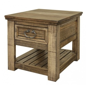 Montana Chair Side Table w/ 1 Drawer