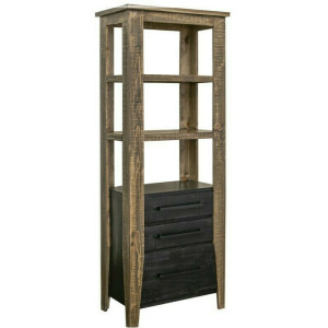 Agave 3 Drawers Bookcase