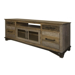 "Loft Brown 76"" TV Stand"