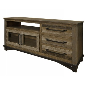 "LOFT BROWN 62"" TV STAND"