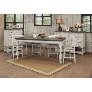 4 PC Counter Dining Set