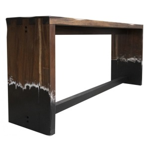 Parota Sofa Bar Table