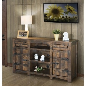 "Mezcal 60"" TV Stand w/2 Doors, 2 Drawers, & 3 Shelves"