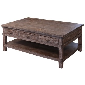 San Angelo Cocktail Table w/6 drawers