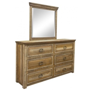 Montana 6 Drawer Dresser & Mirror