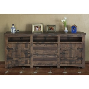"Mezcal 80"" TV Stand w/2 Doors, 2 Drawers, & 3 Shelves"