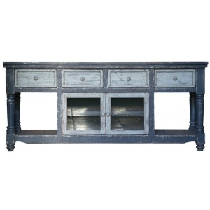 Aruba Dark Blue TV Stand