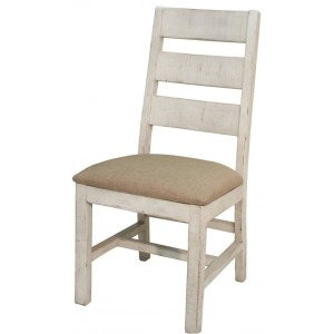 Terra White Ladder Back Chair