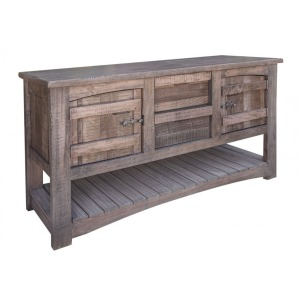 San Antonio Sofa Table w/2 Drawer & 2 Doors