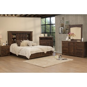 Mezcal 4 PC King Bedroom Set