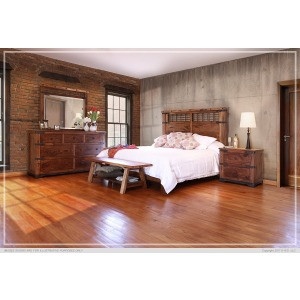 Parota Queen Size 6 Piece Bedroom Set