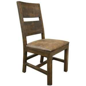 Urban Art Chair w/ Bonded Leather Seat