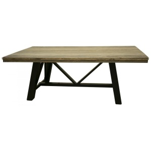 LOFT BROWN DINNING TABLE