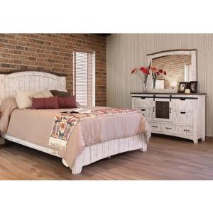 Pueblo White 3 PC Queen Bedroom Set