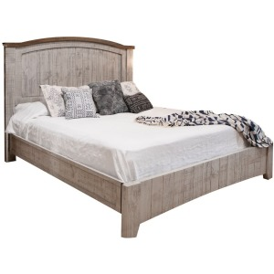 Pueblo Gray King Bed