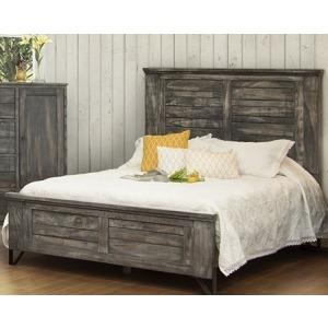 Moro King Panel Bed