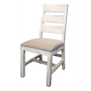 Pueblo White Side Chair