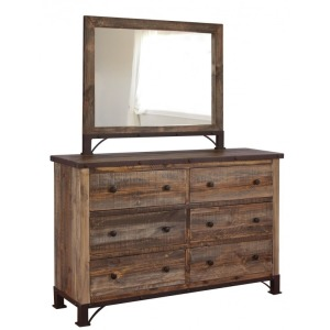 Antique Dresser & Mirror