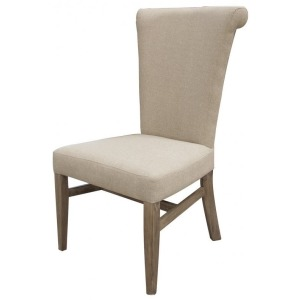 Bonanza Upholstered Chair with Handle Behind Back-Rest
