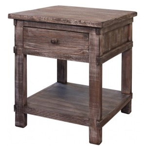 San Angelo End Table w/1 drawer