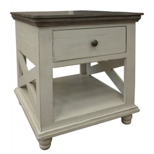 Florence Ivory End Table