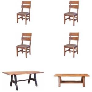 Parota 7PC Dining Set