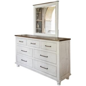 Rock Valley 7 Drawer Dresser & Mirror