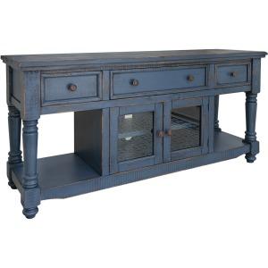 Aruba Dark Blue TV Stand