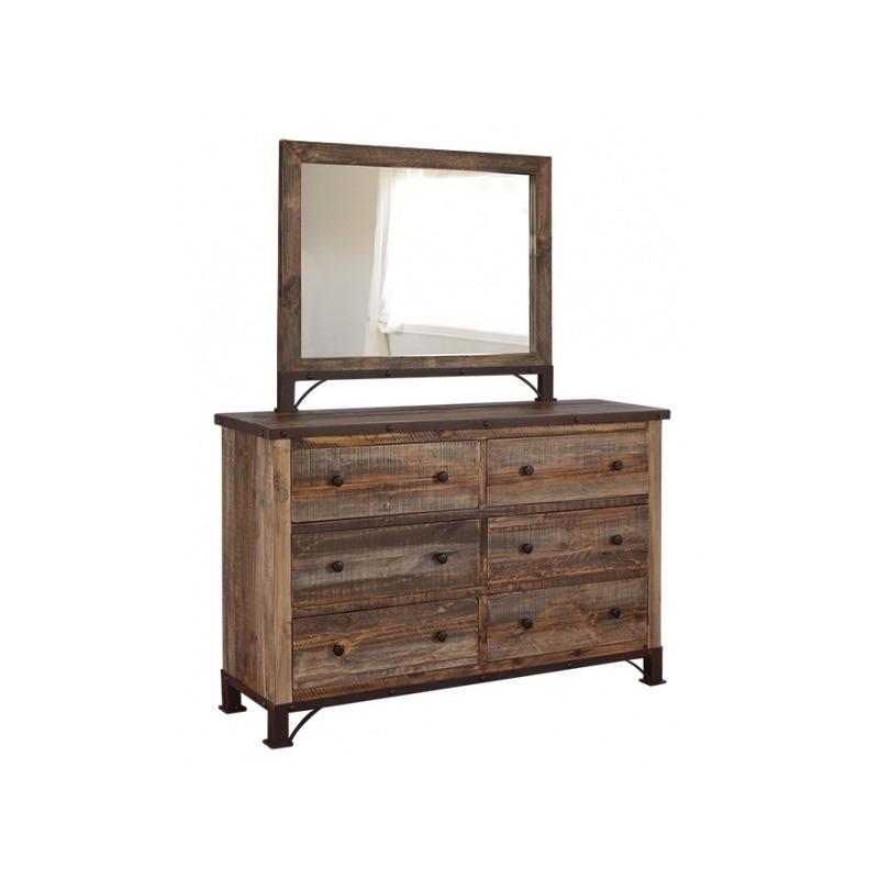 Antique Multi-Color Dresser