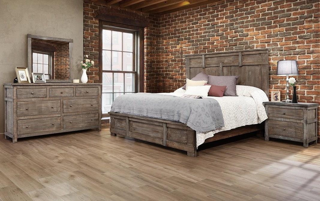 San Angelo 4 Pc King Bedroom Set By, Furniture San Angelo