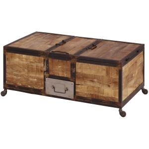 New Monk Iron Bar Box Coffee Table