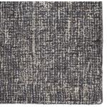 Britta Plus Britta Plus Handmade Solid Dark Gray/ Light Gray Area Rug (9'X12')