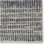 Dash Escape Abstract Gray/ Blue Area Rug (7'10
