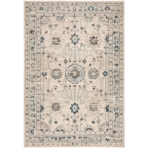 "Berkeley Stirling Oriental Light Gray/ Light Blue Area Rug (7'8""X10'3"")"