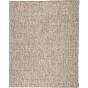 Wisteria Jardin Indoor/ Outdoor Solid Gray/ White Area Rug (2'X3')