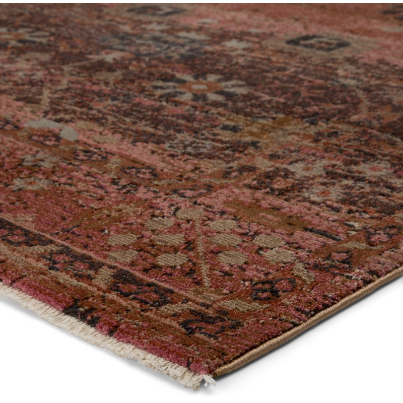 Myriad Vibe By Caruso Oriental Pink Rust Area Rug 9 6 X12 7 By Jaipur Living Nis584426458 Designer Furniture Gallery