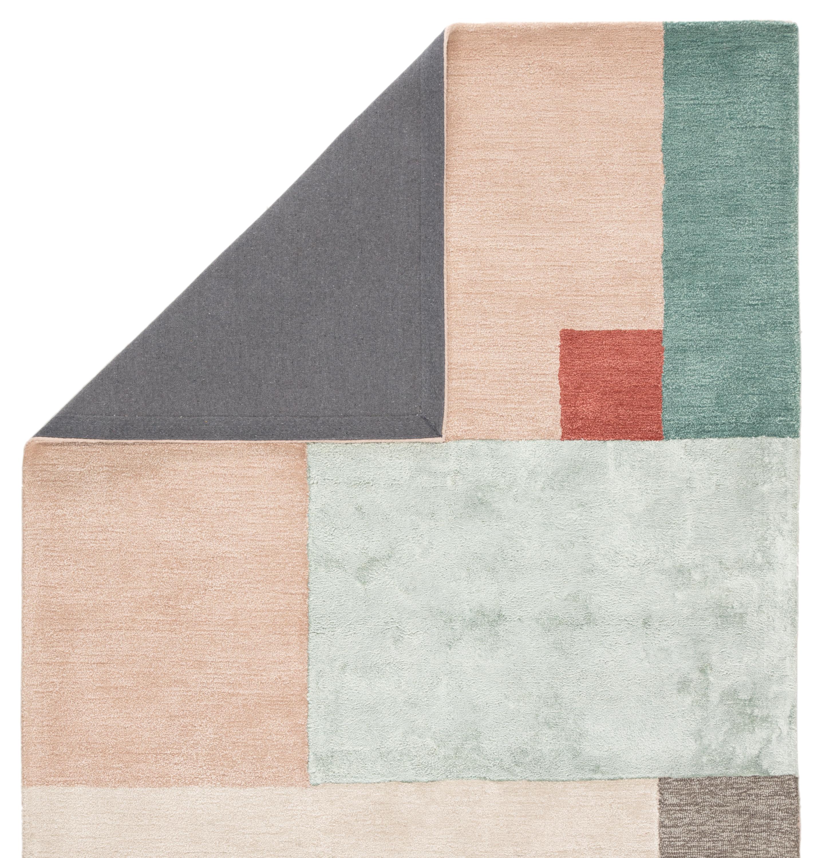 Syntax Segment Handmade Geometric Pink Red Area Rug 2 X3 By Jaipur Living Nis561423428 Designer Furniture Gallery