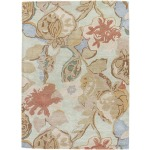 "Blue Petal Pusher Rug - 7'10"" x 9'10"""