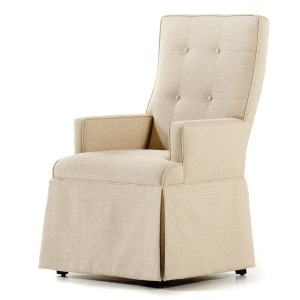 � Baye Skirted Arm Chair