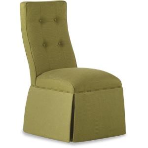 � Baye Skirted Armless Chair