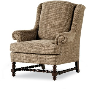 Ronson Pillowback Wing Chair