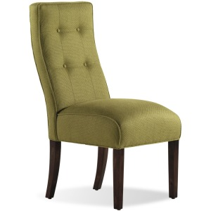 � Baye Exposed Wood Armless Chair