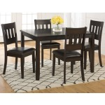 Dark Roast 5-Pack- Table and 4 Chairs