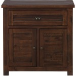 Urban Lodge Brown Accent Cabinet with 2 Doors