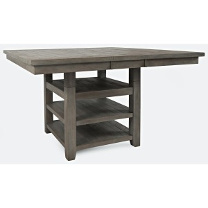 Outer Banks Hi/Low Square Storage Dining Table
