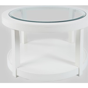 Urban Icon Round Castered Cocktail Table