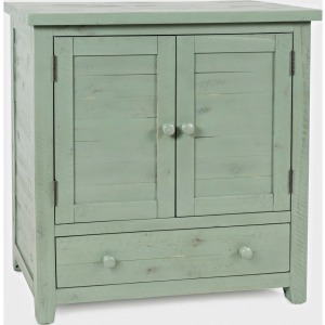 American Folklore Accent Chest - Antique Green
