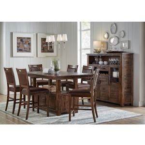Cannon Valley 8PC High/Low Dining Set