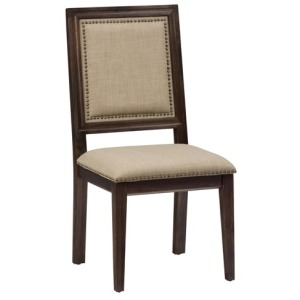 Geneva Hills Picture Frame Side Chair with Upholstered Back and Seat