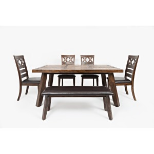 6pc Painted Canyon Dining Set